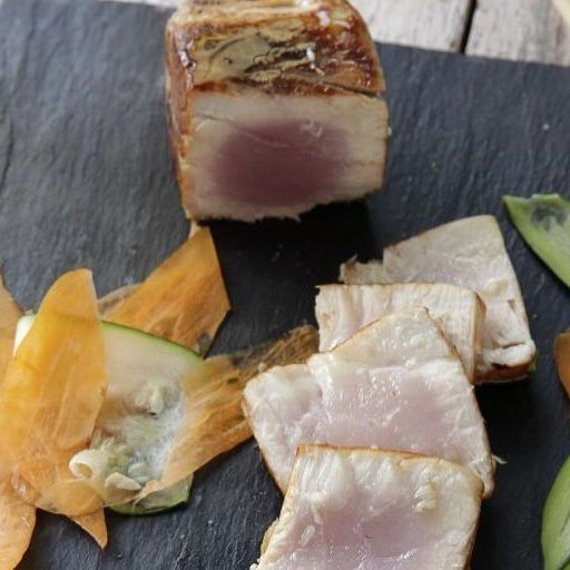 receta atún a la plancha con salsa de soja y cítricos