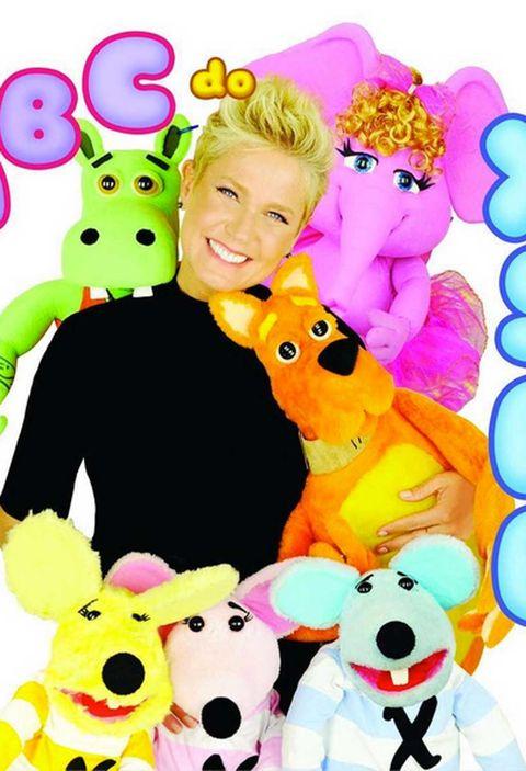 Vertebrate, Toy, Happy, Pink, Plush, Snout, Baby toys, Stuffed toy, Animal figure,