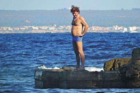 Sea, Water, Ocean, Fun, Wave, Recreation, Muscle, Swimwear, Wind wave, Vacation,