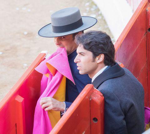 Pink, Tradition, Outerwear, Magenta, Headgear, Fun, Event, Temple, Hat, Formal wear,