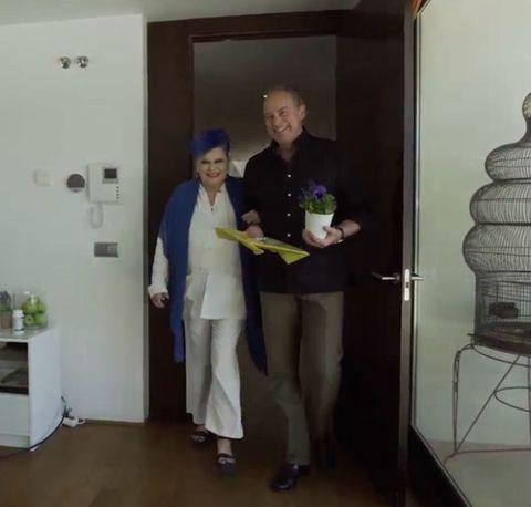 Room, Standing, Ceiling, Suit trousers, Door, Home door, Service, Cabinetry, Cleanliness, Plaster,
