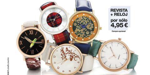Product, Analog watch, Watch, Red, Fashion accessory, Watch accessory, Font, Carmine, Fashion, Brand,