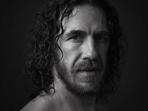 Face, Hair, Facial hair, Beard, Black-and-white, Head, Portrait, Monochrome photography, Chin, Monochrome,