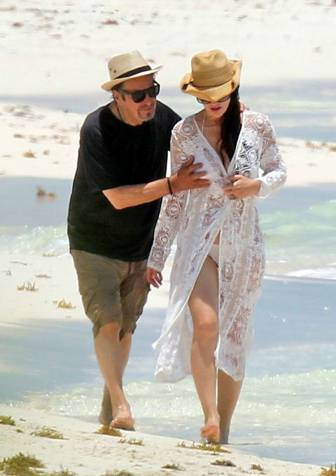People on beach, Vacation, Honeymoon, Fun, Summer, Interaction, Barefoot, Beach, Gesture, Holding hands,