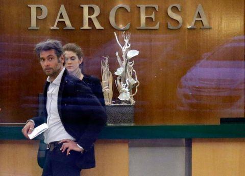 Suit trousers, Blazer, White-collar worker, Blackboard,