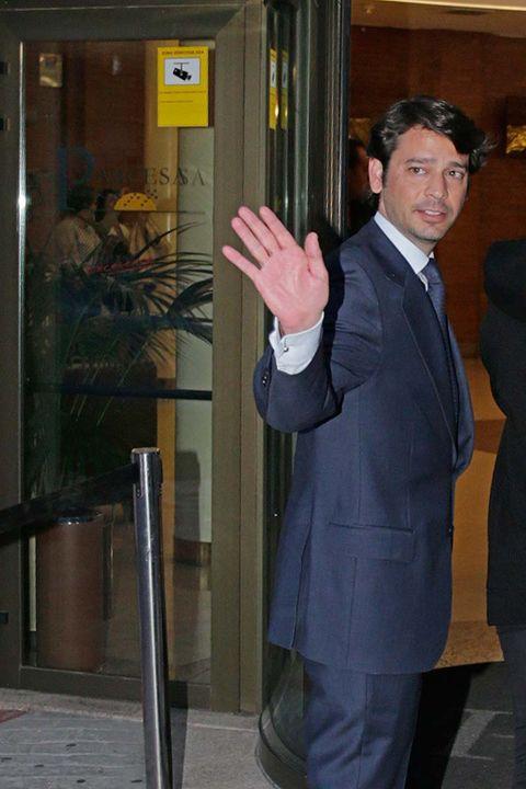 Standing, Door, Suit,