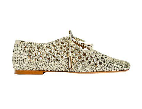 Footwear, Shoe, Beige, Glitter, Fashion accessory, Dress shoe, Sneakers,