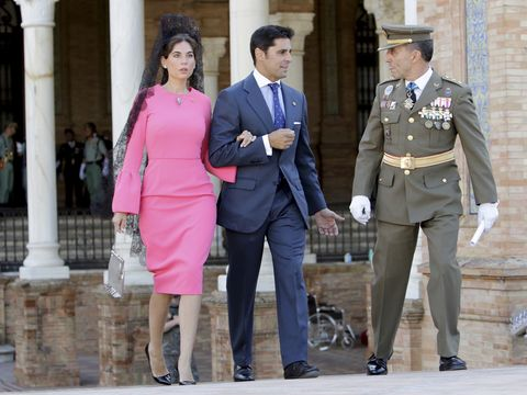 Uniform, Military uniform, Pink, Fashion, Standing, Official, Street fashion, Event, Outerwear, Military rank,