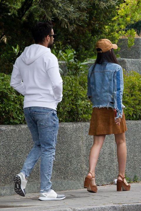 Jesús Castro y su novia