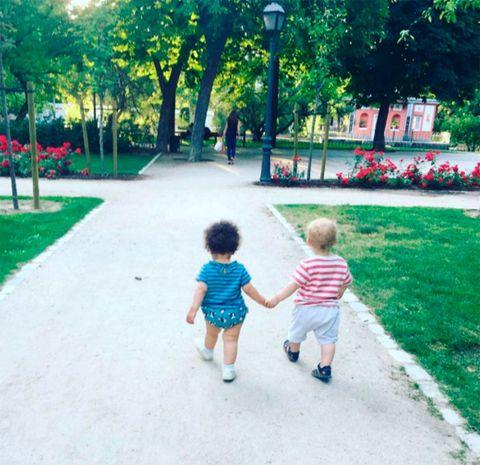 Child, Walking, Snapshot, Toddler, Play, Summer, Leisure, Leaf, Park, Fun,