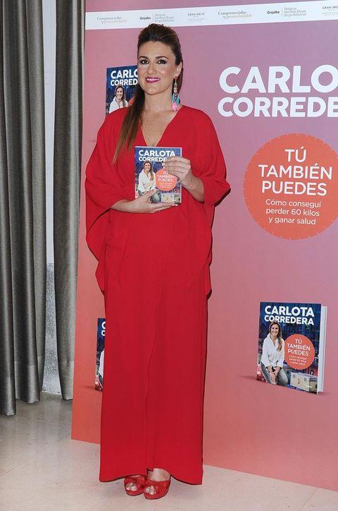 Carlota Corredera en la presentación de su libro Tú también puedes
