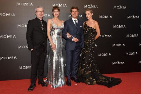 Tom Cruise estrena La Momia en Madrid