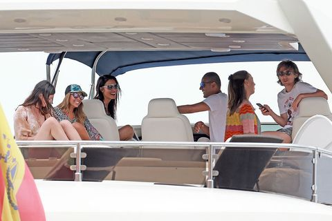Vacation, Vehicle, Luxury yacht, Fun, Leisure, Yacht, Event, Luxury vehicle, Car, Auto part,