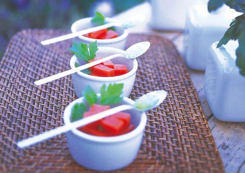 receta gazpacho en gelatina