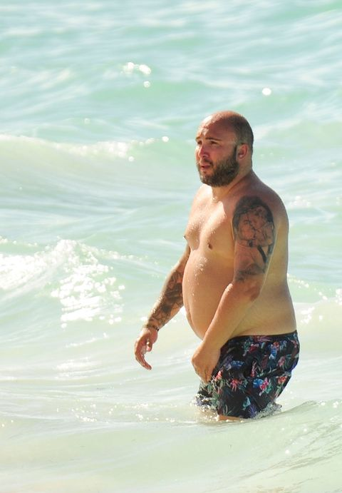 Barechested, Vacation, Fun, Beach, Skin, Summer, Sea, Water, Wave, Chest,