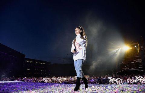 Concierto solidario de Ariana Grande
