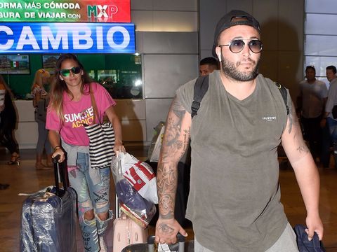 Kiko Rivera e Irene Rosales regresan a España tras unos días en Punta Cana