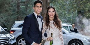 Melissa Jiménez y Marc Bartra boda