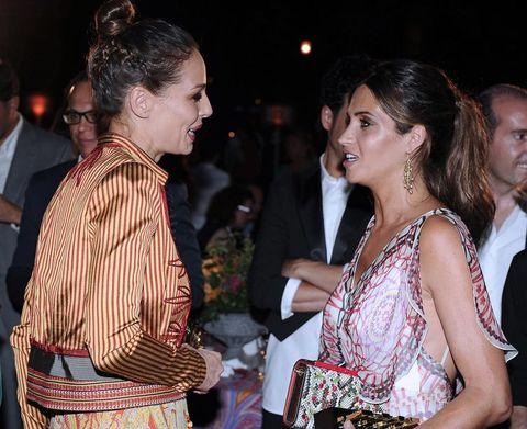 Sara Carbonero y Eva González en los Elle Gourmet Awards