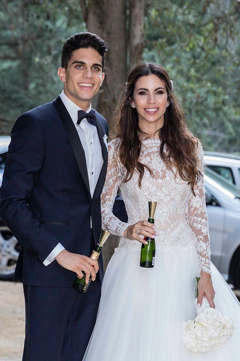 Boda Melissa Jiménez y Marc Bartra