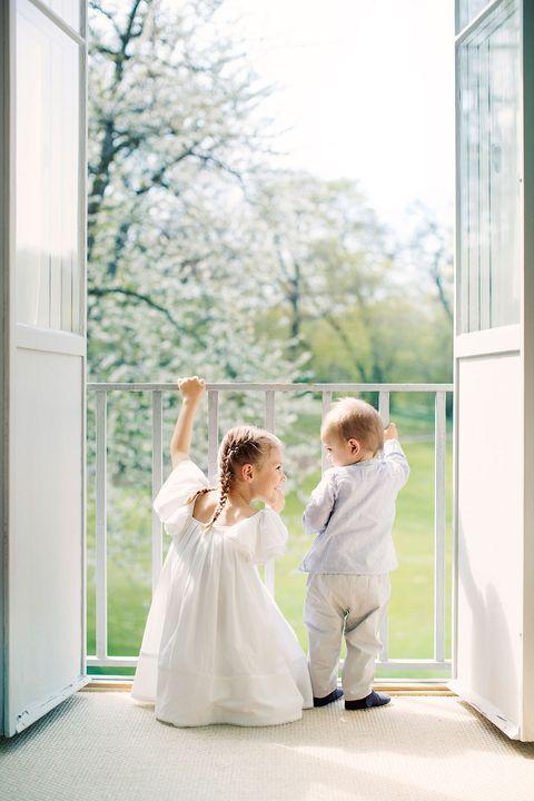 Photograph, Yellow, Bride, Wedding dress, Ceremony, Bridal clothing, Dress, Photography, Room, Wedding,