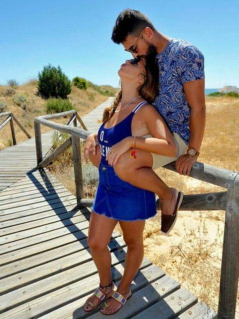 Anabel Pantoja y su novio
