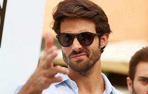 Eyewear, Hair, Facial hair, Beard, Sunglasses, Face, Cool, Glasses, Hairstyle, Moustache,