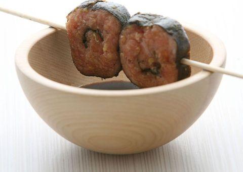 receta Tartare de atún a la japonesa