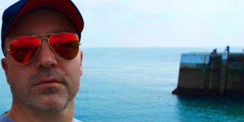 Eyewear, Sunglasses, Sea, Vacation, Glasses, Travel, Sky, Ocean, Fun, Tourism,