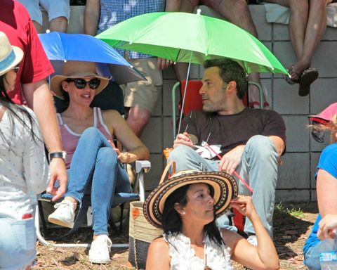 Ben Affleck y Jennifer Aniston juntos el 4 de julio
