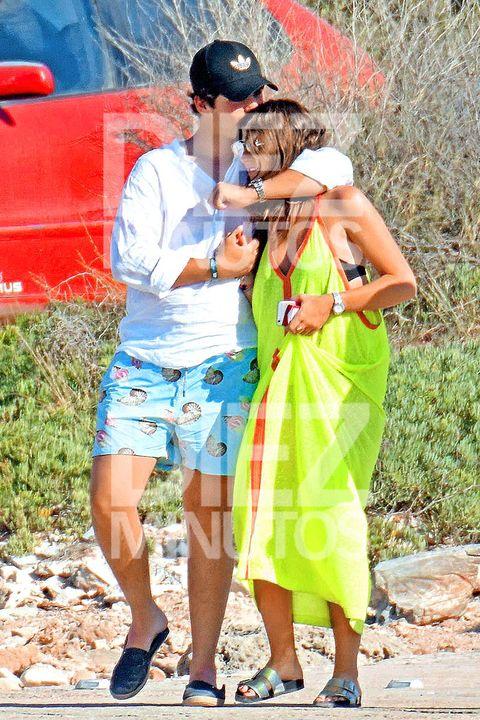 Froilán con su novia en Ibiza