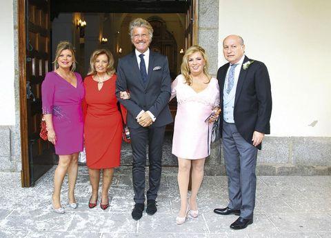 María Teresa Campos de boda con Edmundo