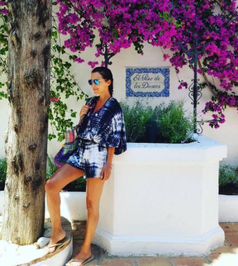 Paula Echevarría de vacaciones en Marbella