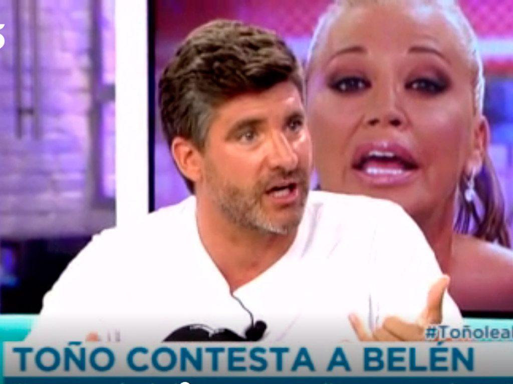 Belén Esteban y Toño Sanchís