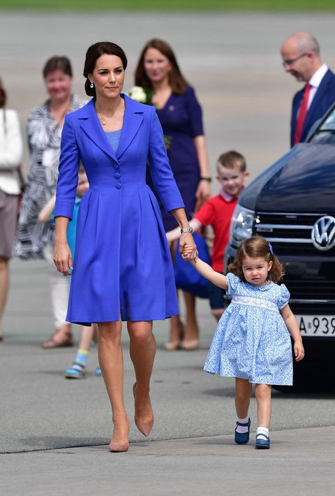 Blue, Cobalt blue, Fashion, Electric blue, Dress, Event, Child, Fun, Leg, Smile,
