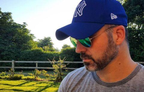 Cap, Headgear, Facial hair, Baseball cap, Beard, Hat,