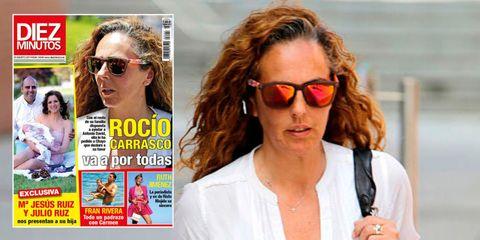 Rocío Carrasco, portada de Diez Minutos