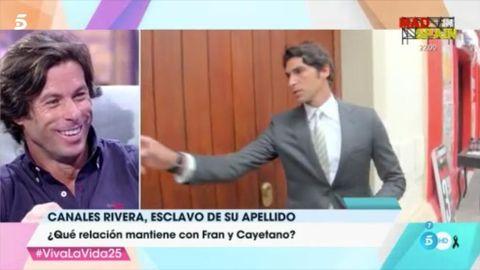 Canales Rivera primo de Fran y Cayetano Rivera