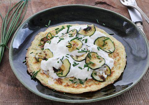 receta Tortilla de queso y calabacín