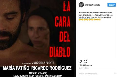 María Patiño nominada por su corto en Hollywood