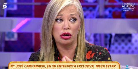 Hair, Television presenter, Blond, Facial expression, News, Nose, Newsreader, Chin, Lip, Cheek,