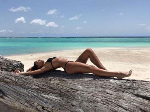 Sun tanning, Bikini, Vacation, Skin, Beauty, Beach, Leg, Sea, Swimwear, Summer,