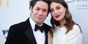 María Valverde con su marido Gustavo Dudamel