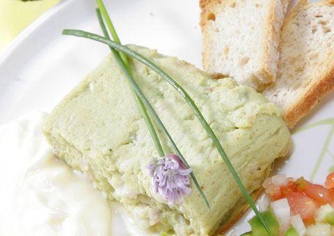 receta Molde de mero y aguacate
