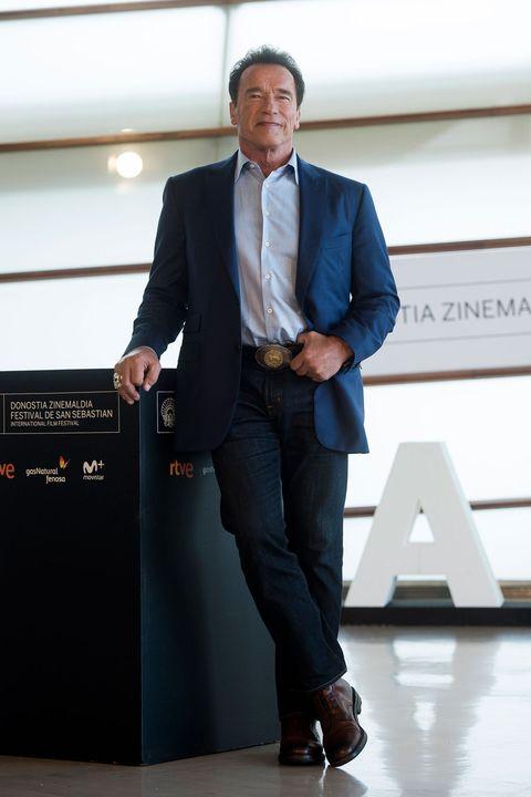 Arnold Schwarzenegger en San Sebastián