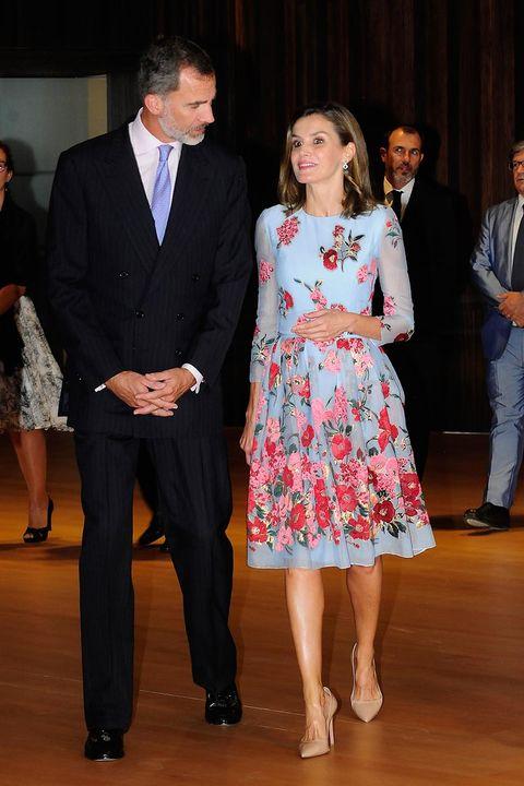 La Reina Leticia estrena corte de pelo en Mallorca