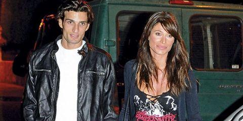 Sonia Ferrer con su novio