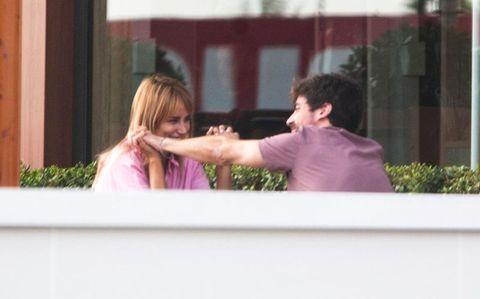Alba Carrillo sale a comer con su novio