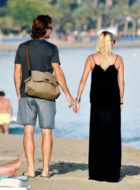 Carolina Cerezuela y Carlos Moyá en Marbella