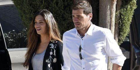 Sara Carbonero e Iker Casillas en Madrid